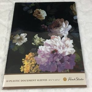 NWT Punch Studio Plastic Document Sleeves